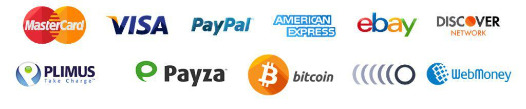 Accept all credit card